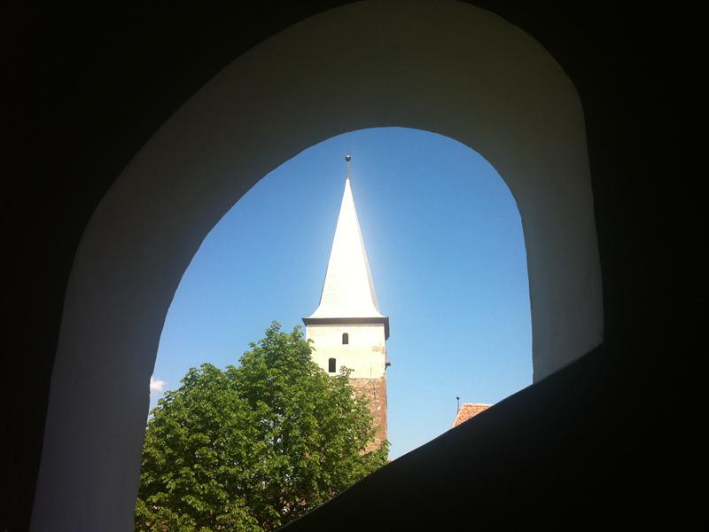 Der stolze Kirchturm